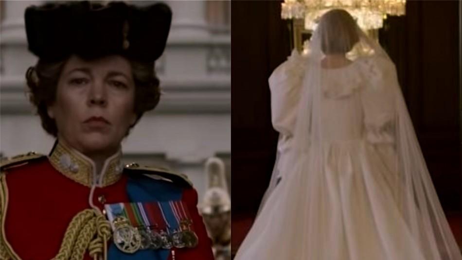 The Crown estrena primer adelanto de su temporada 4 con imágenes de Lady Di