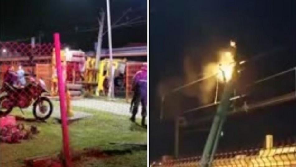 Camión colisiona con Biotren con destino a Concepción: El servicio fue suspendido
