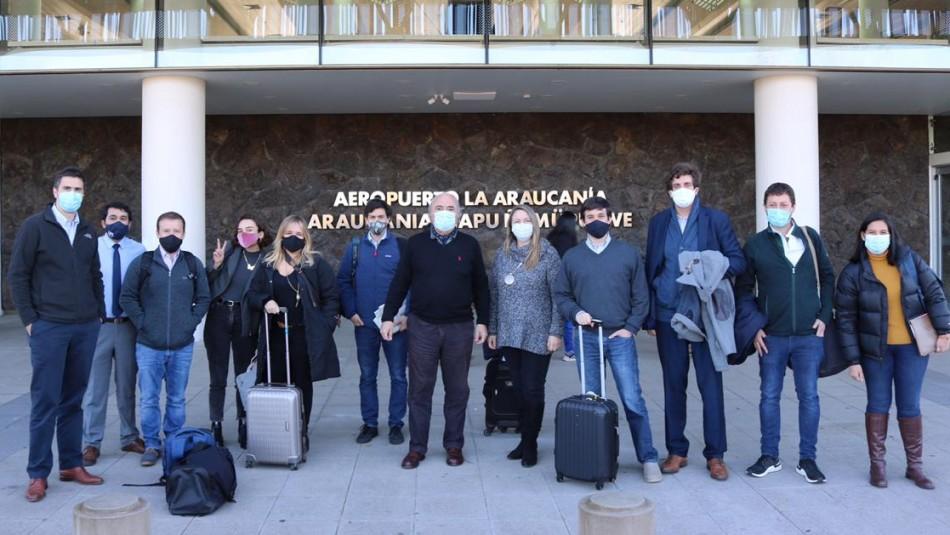 Chile Vamos inicia su gira regional por el rechazo