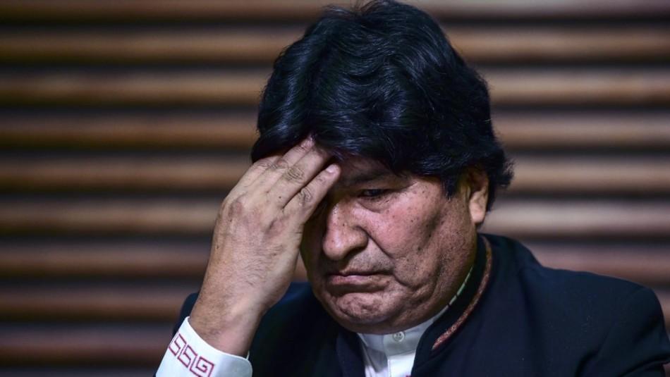 Gobierno boliviano denuncia a Evo Morales por supuesta relación con una menor