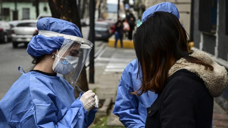 Argentina registra la cifra más alta de contagios desde el inicio de la pandemia de coronavirus