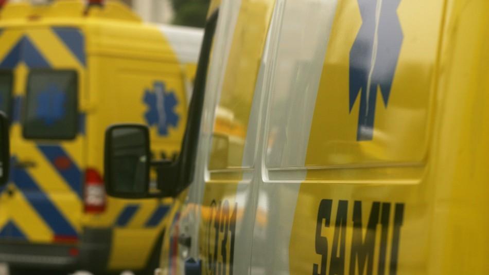 Lactante queda grave tras accidente vehicular provocado por conductor ebrio