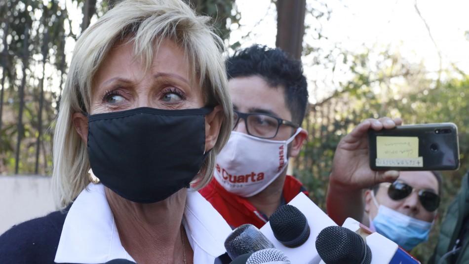 Raquel Argandoña denuncia malos tratos a su hijo: