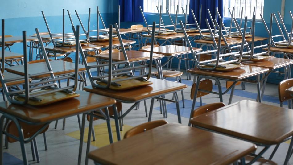 Cadem: Solo el 5% está de acuerdo con regreso a clases presenciales en segundo semestre