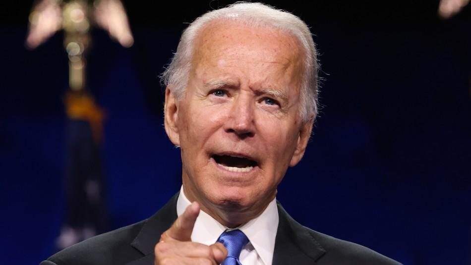Joe Biden acepta la nominación demócrata: