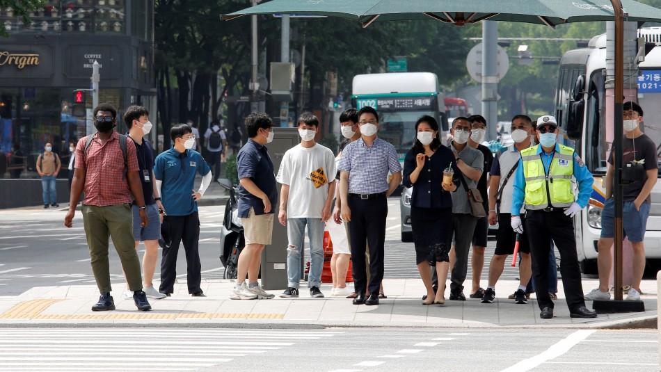 Rebrote de coronavirus: Corea del Sur registra el mayor número de casos diarios desde marzo