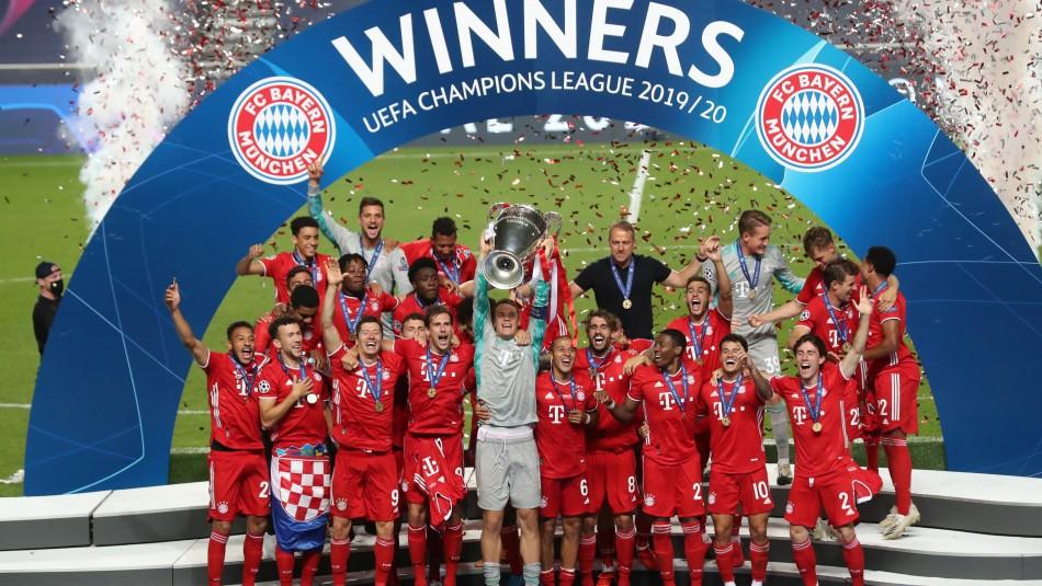 Bayern Múnich derrota por la mínima al PSG y conquista su sexto título de la Champions League