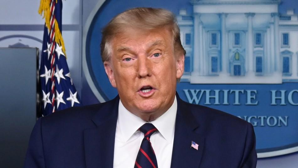 Donald Trump anuncia autorización de tratamiento con plasma por coronavirus