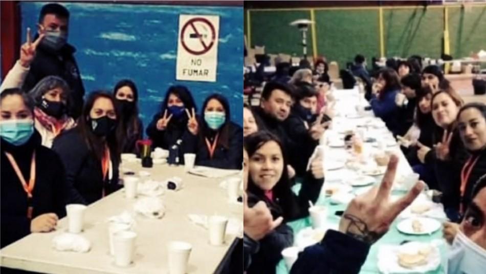 Polémica fiesta en Quillota: Funcionarios municipales realizaron celebración en centro de acopio