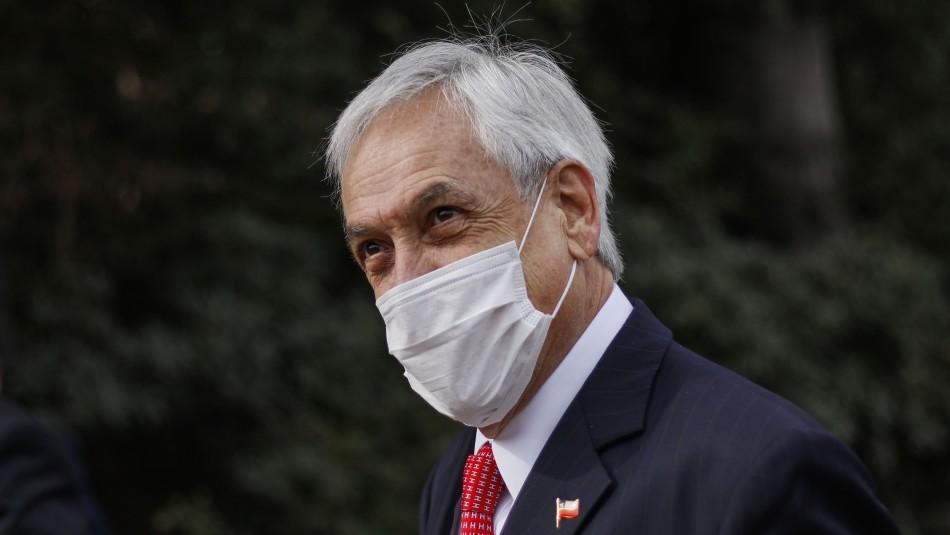 Presidente Piñera por críticas a su gestión: