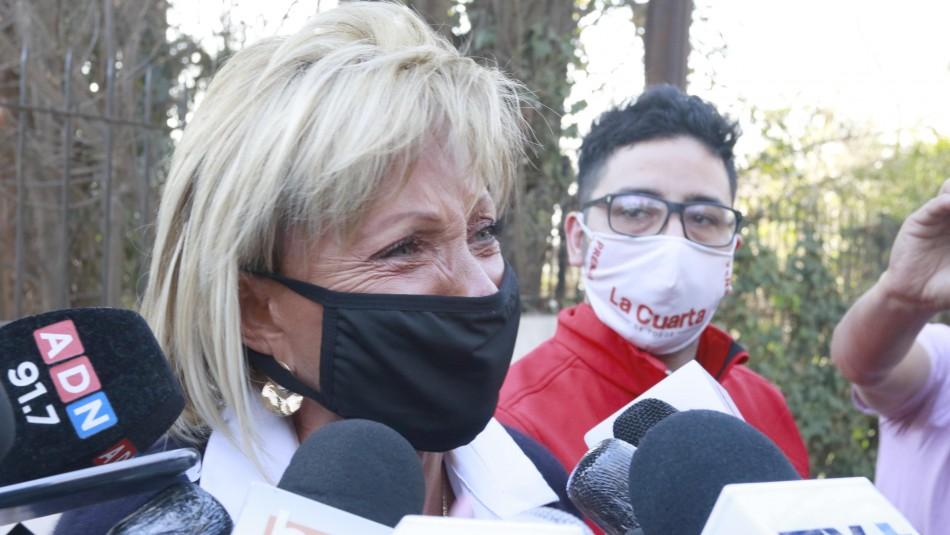 Raquel Argandoña sobre su hijo Hernán Calderón: