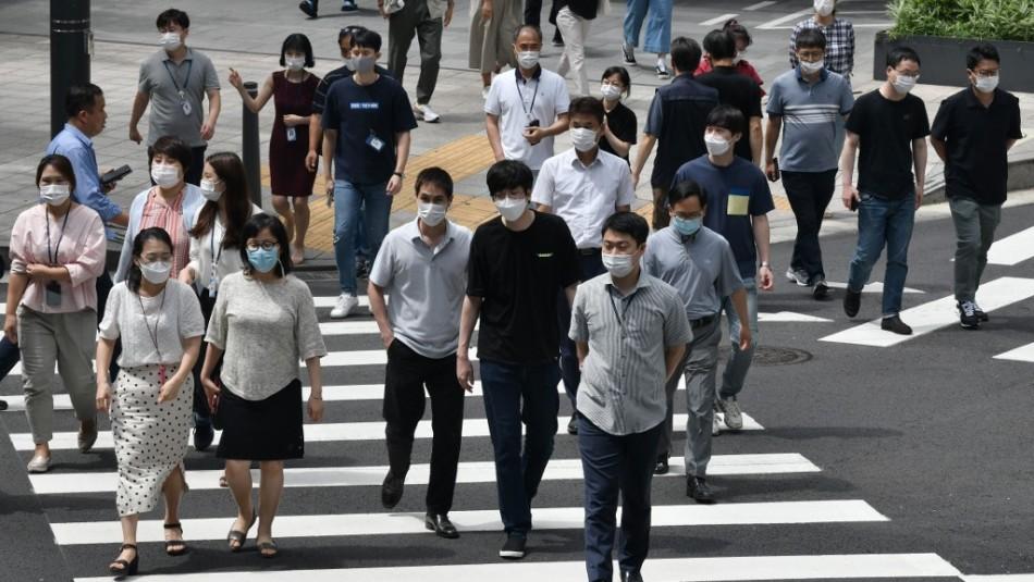 Corea del Sur registra el mayor número de casos diarios de coronavirus desde marzo