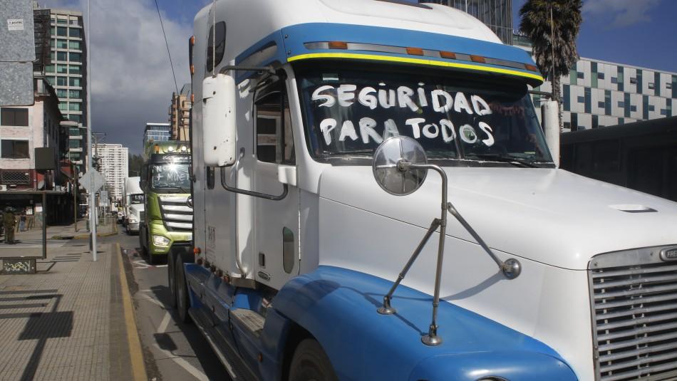 Camioneros advierten paro nacional de no aprobarse leyes en materia de seguridad