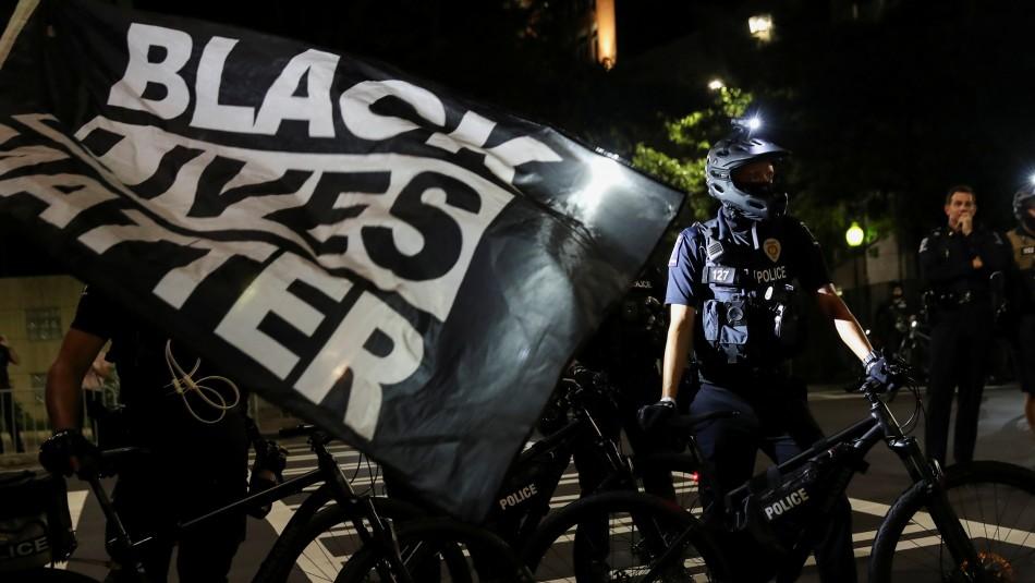 Protestas en Wisconsin luego que un policía disparara a un hombre negro por la espalda