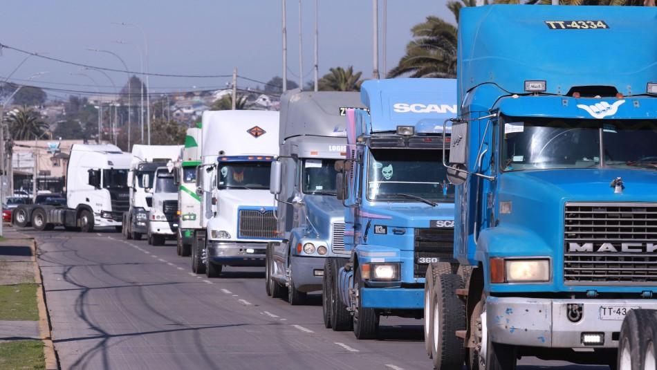 Camioneros del sur dicen que paro va
