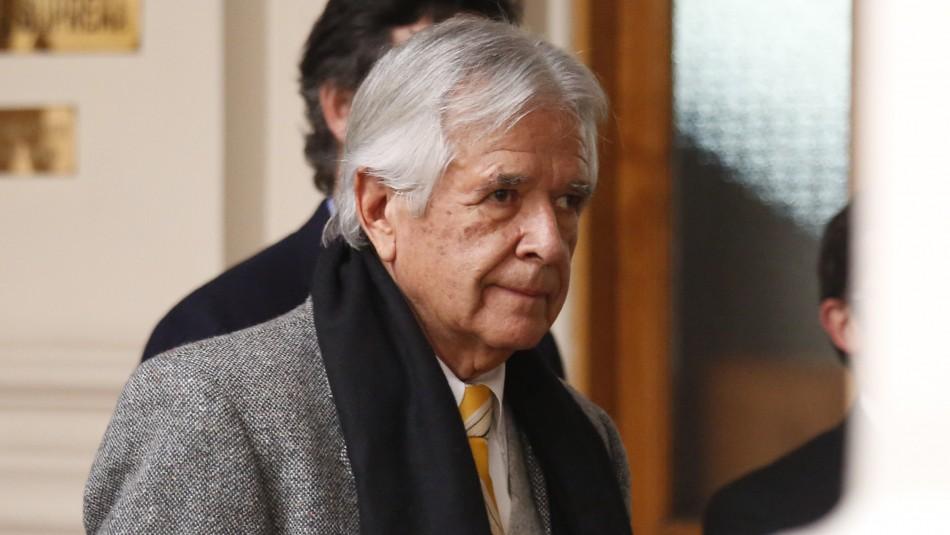 Corte Suprema rechaza extradición de Carlos Cardoen solicitada por EEUU