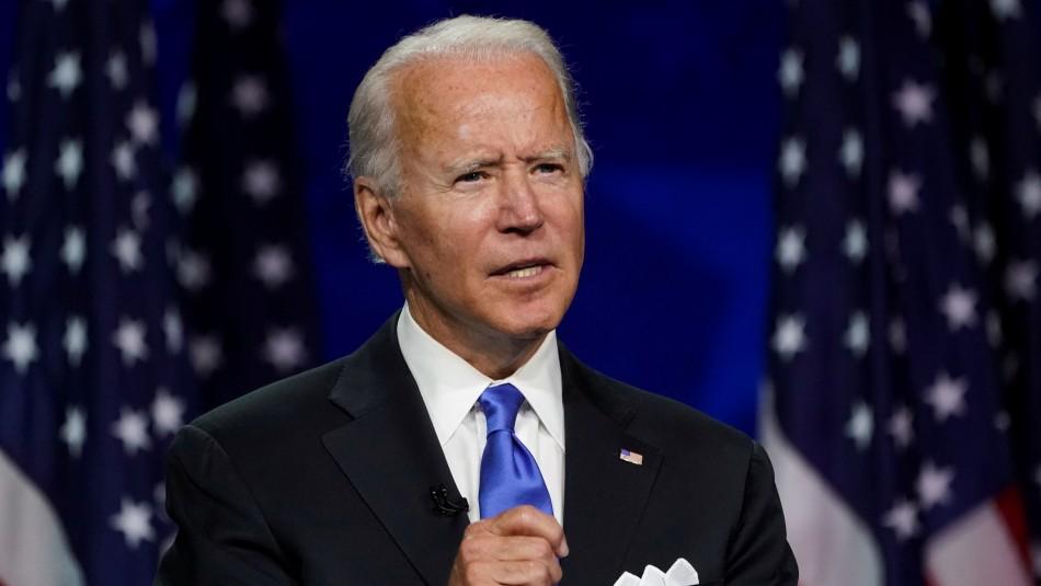 Joe Biden acusa a Donald Trump de