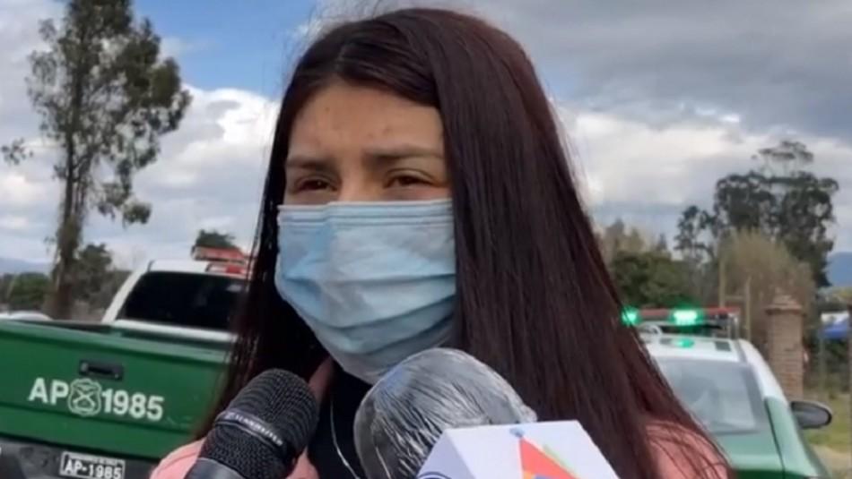 Hermana de Carabinera asesinada:
