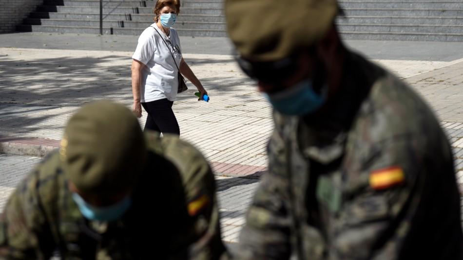 España despliega a sus militares para rastrear casos ante rebrote del coronavirus