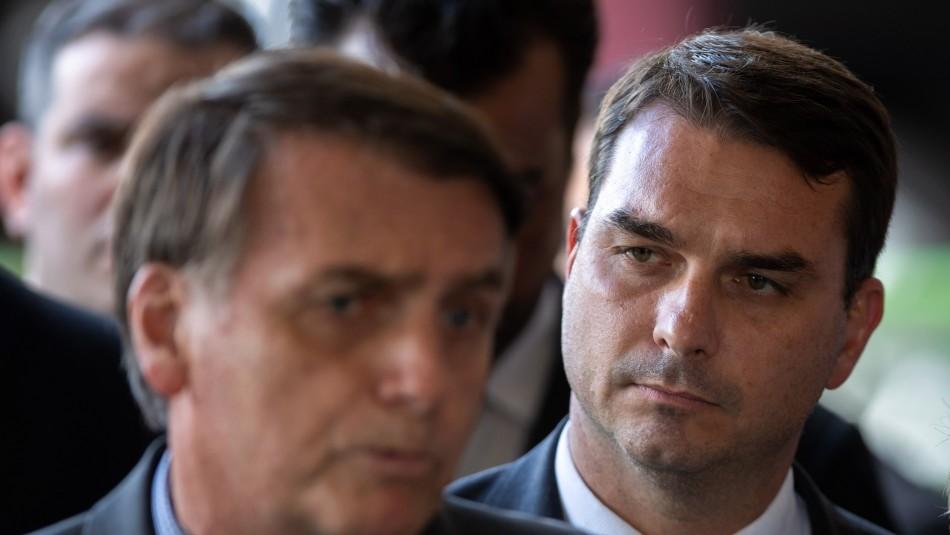 Hijo mayor de Bolsonaro tiene coronavirus y anuncia tratamiento con cloroquina