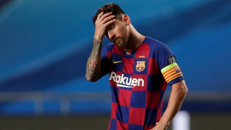 Lionel Messi quiere abandonar el Barcelona.