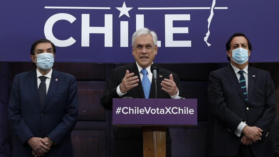 Piñera promulga Plebiscito seguro: