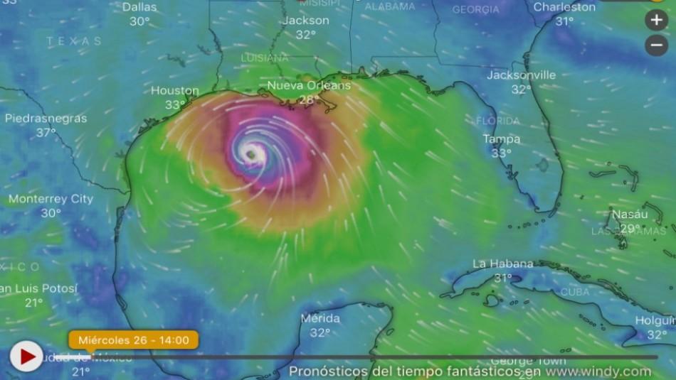 NASA: Así se ve desde el espacio la formación del Huracán Laura que hoy amenaza a EEUU
