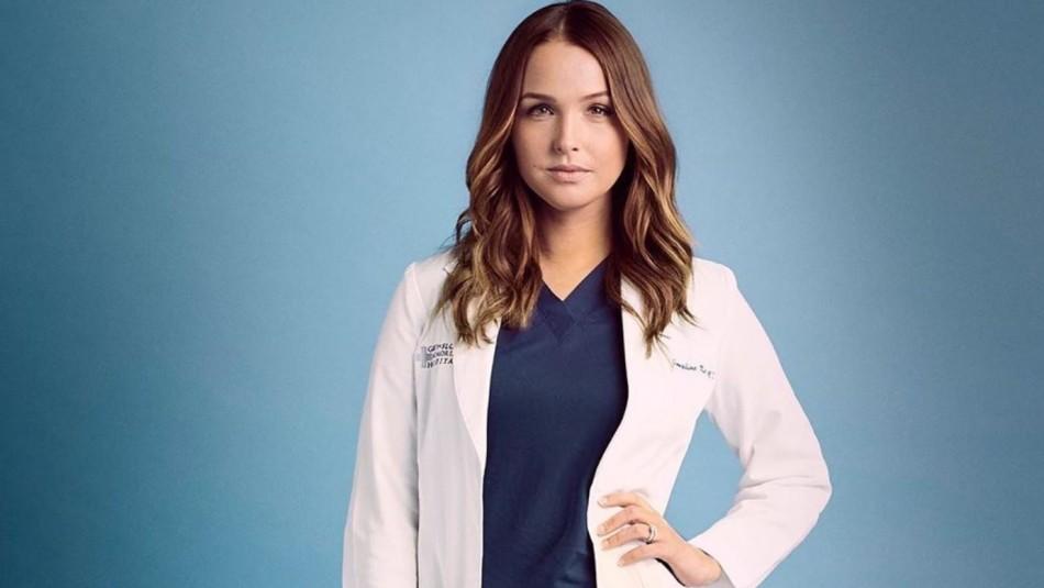Actriz de Grey's Anatomy dio a luz a su segundo hijo usando mascarilla: