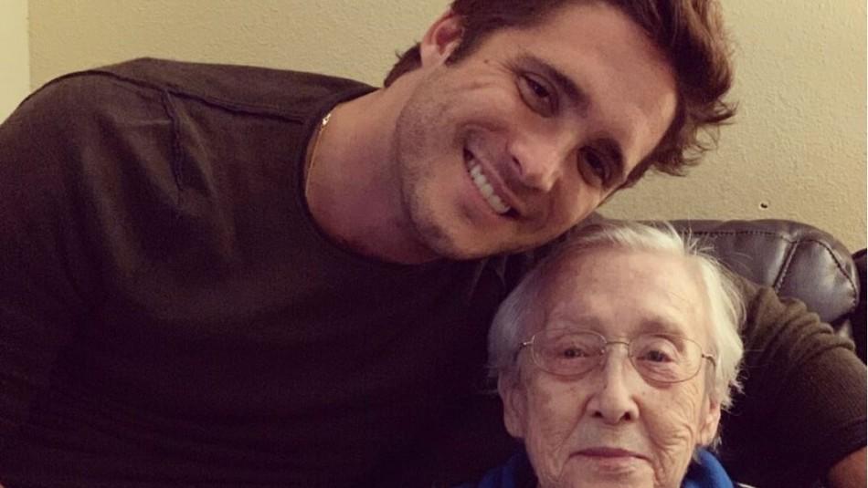 La tristeza de Diego Boneta tras la muerte de su abuela: