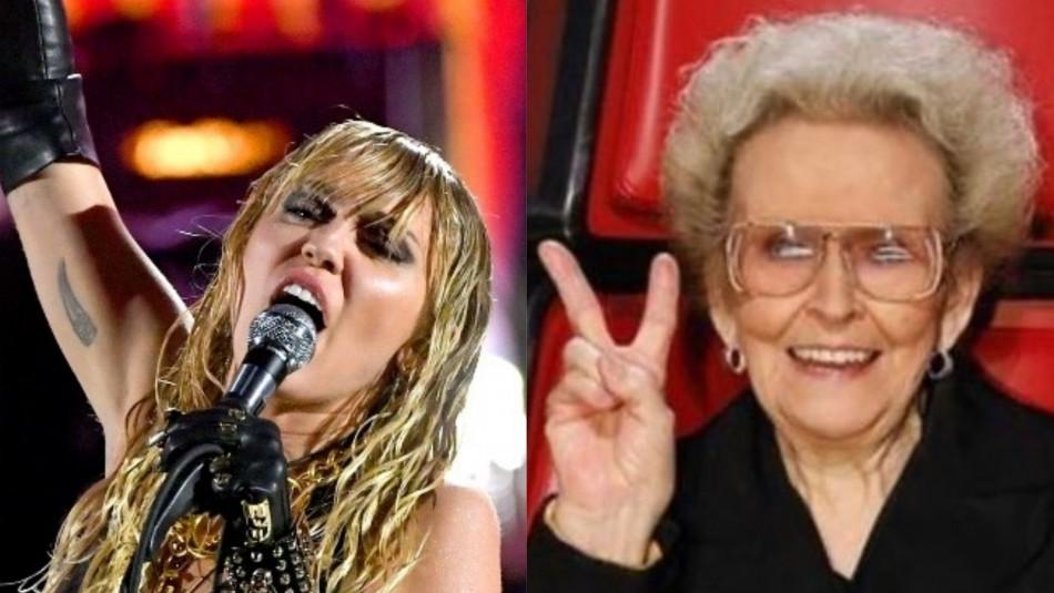 El duro momento que pasa Miley Cyrus por la muerte de su abuela: