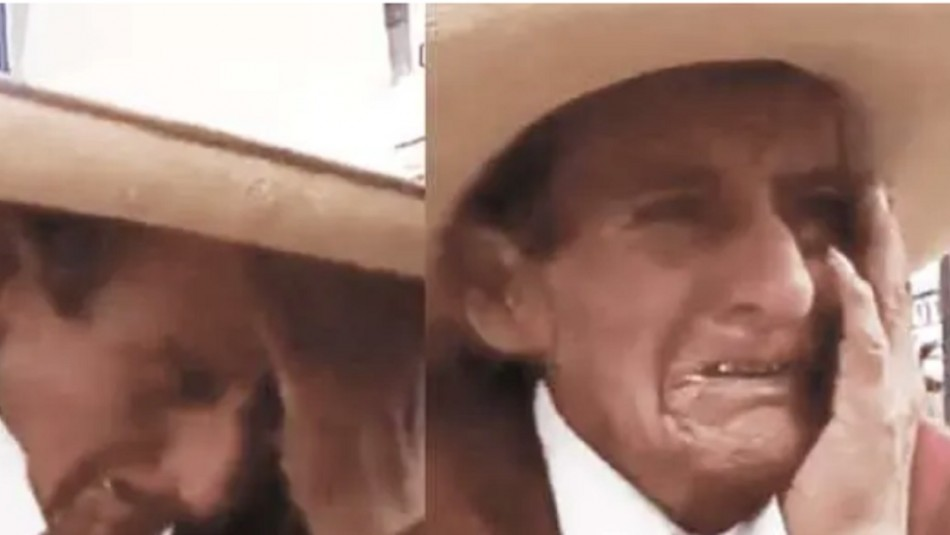 Abuelo vive drama en Perú.