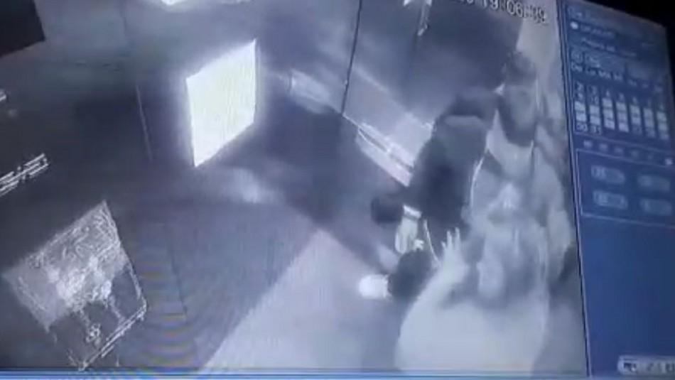 Sujeto es detenido por agredir a pareja: Hija de 10 años denunció por WhatsApp