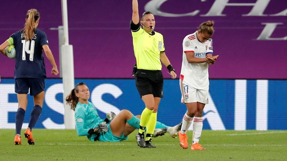PSG cae en semis de la Champions League femenina.
