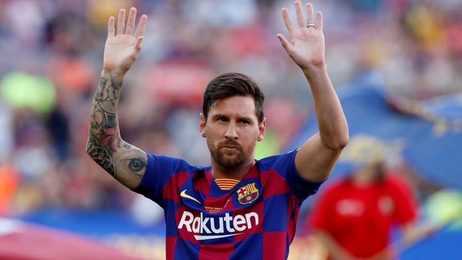 Lionel Messi decidió fichar en Manchester City.