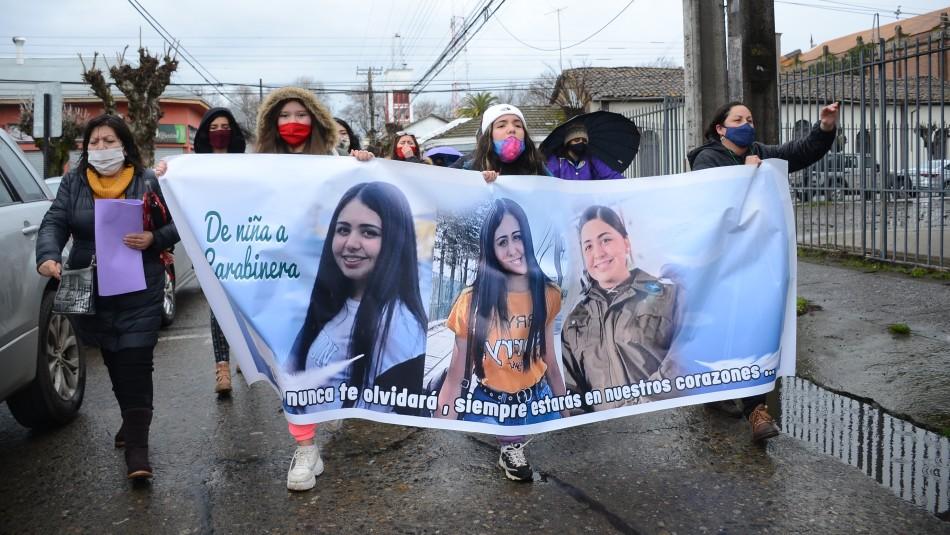 Masiva marcha en Linares por caso Norma Vásquez.