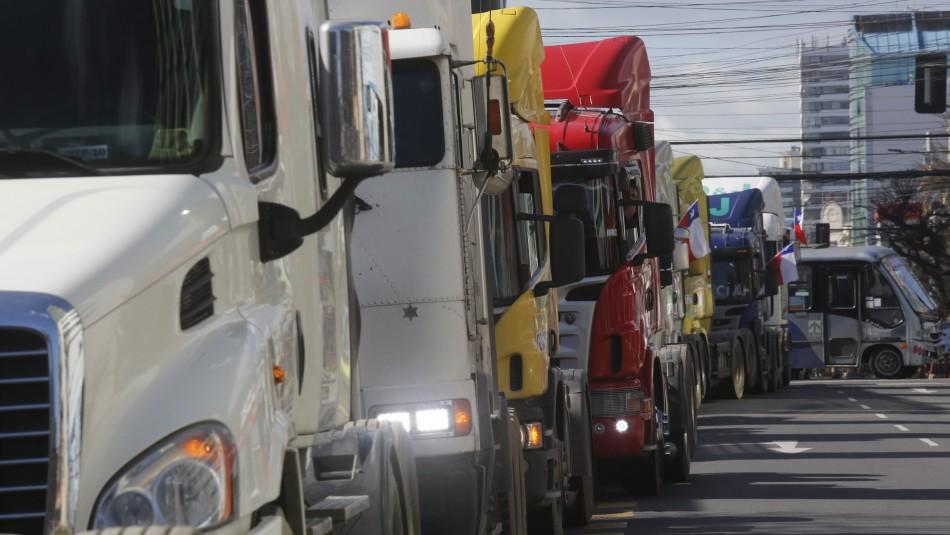 Presidente de la CNTC y paro de camioneros: Más que movilización es una manifestación ciudadana