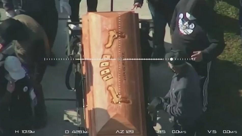 Amplio operativo en funeral del narco