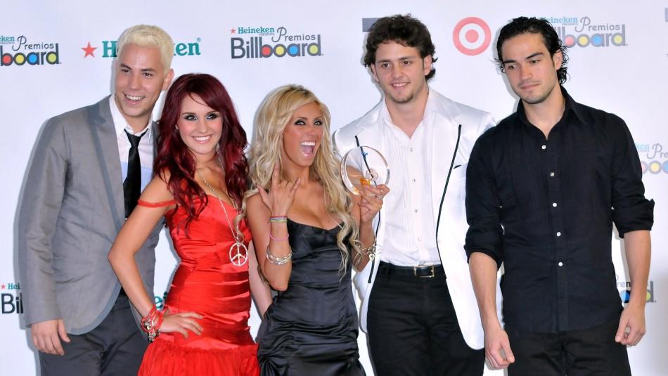 RBD anuncia el regreso oficial de su música a las plataformas digitales