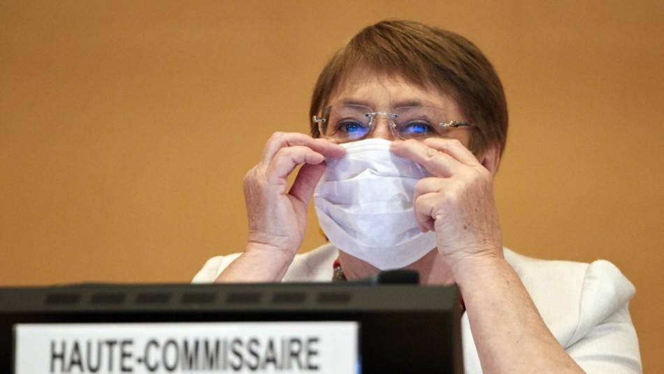 Bachelet advierte la desigualdad del coronavirus: