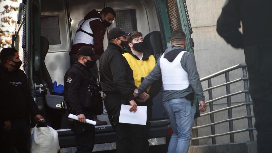 Hernán Calderón Argandoña es trasladado al penal Santiago 1 para cumplir prisión preventiva