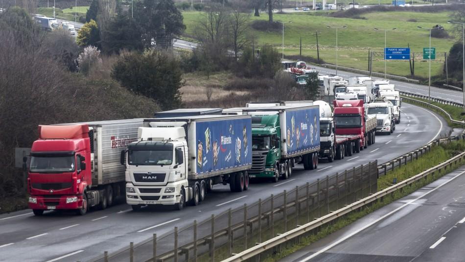 Gobierno valora que paro de camioneros no haya cortado la cadena de abastecimiento