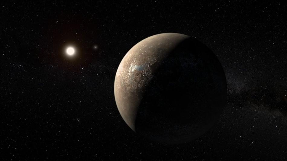 Proxima B, el planeta cercano a la Tierra.