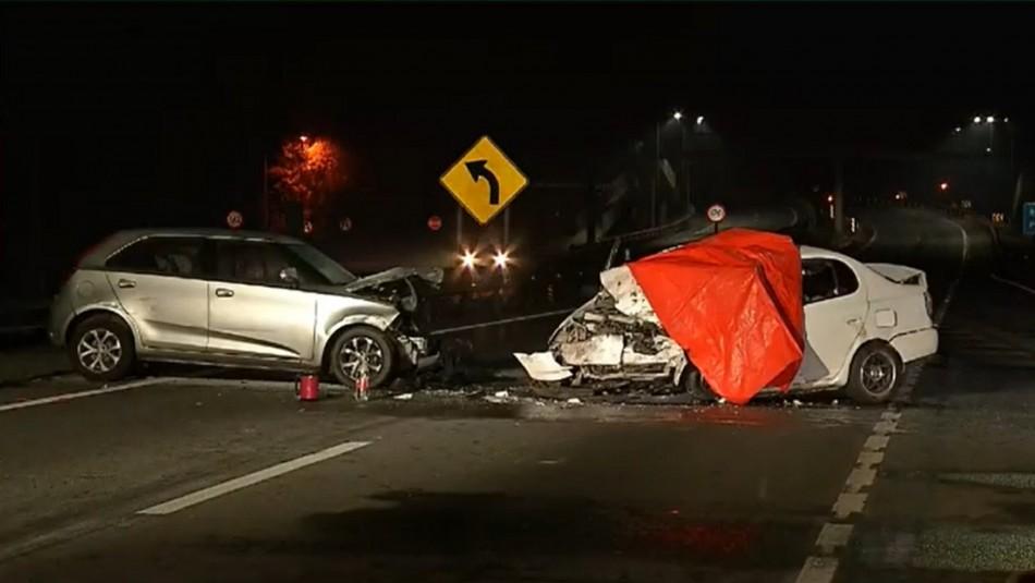 Menor de cuatro años en riesgo vital tras fatal accidente en Ruta 5 Sur