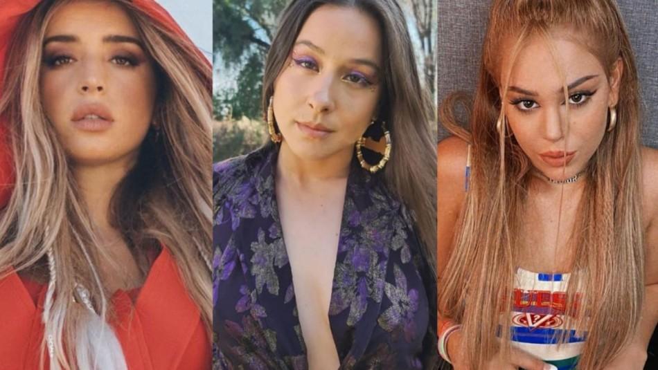 La irrupción de Denise Rosenthal, Danna y Lola en colaboraciones femeninas: