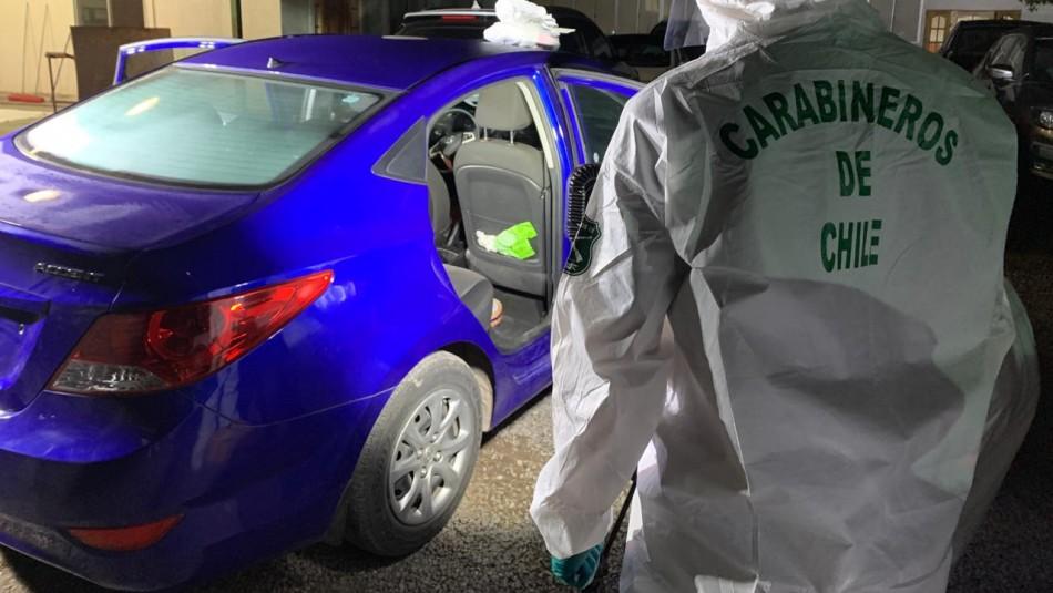 Recuperan vehículo robado a mujeres que repartían comida en Puente Alto