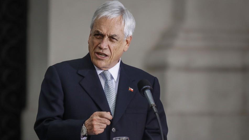 Presidente Piñera por paro de camioneros: