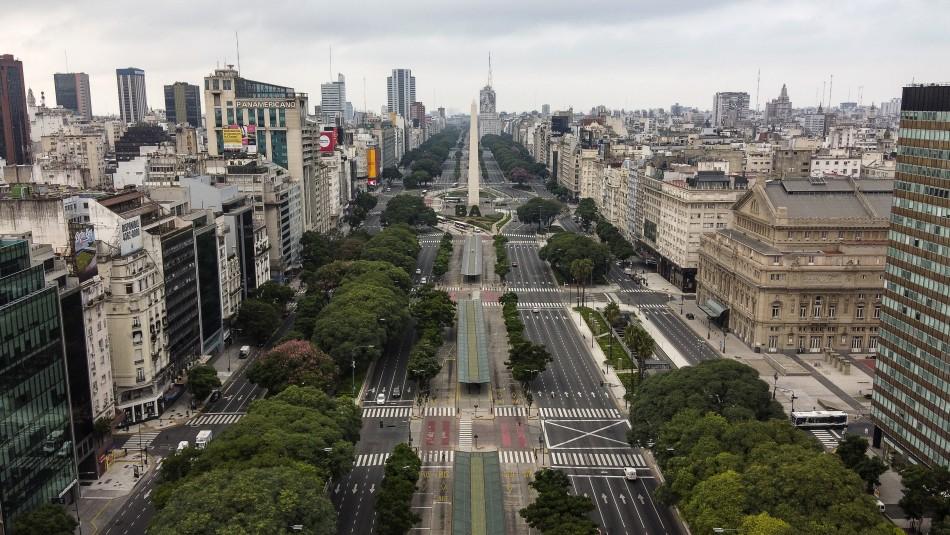 Argentina extiende cuarentena tras registrar nueva cifra máxima de contagios