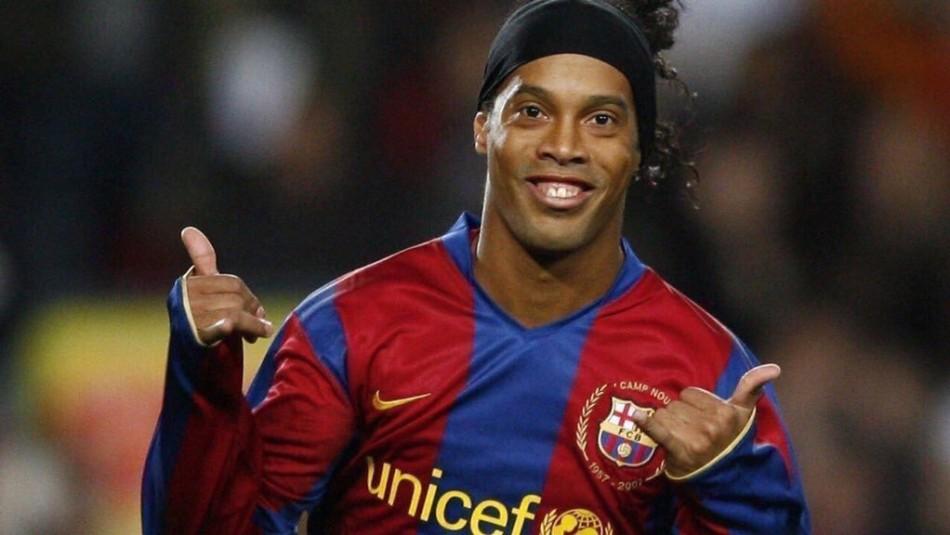 Ronaldinho lanza película de su vida.