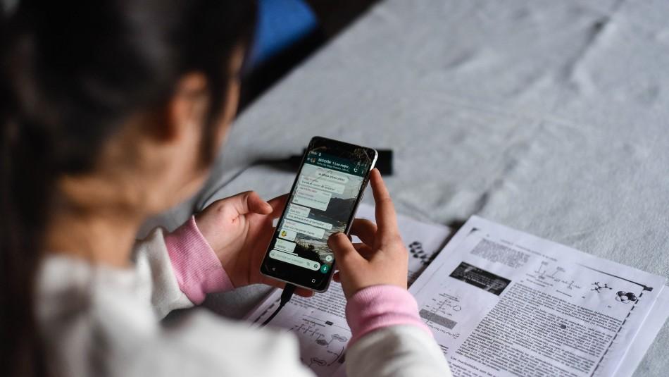 Colegio de San Felipe denuncia ilícito en clase online.