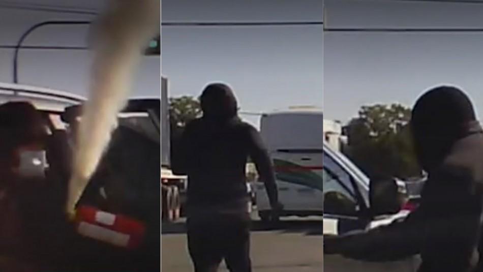 Violento asalto en San Bernardo.